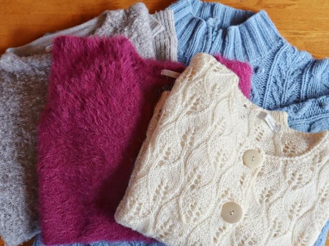 伸びたセーターを縮める 方法
