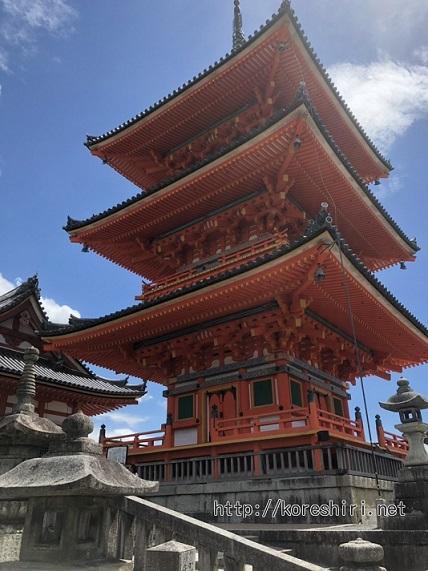 夏 京都 旅行 暑い