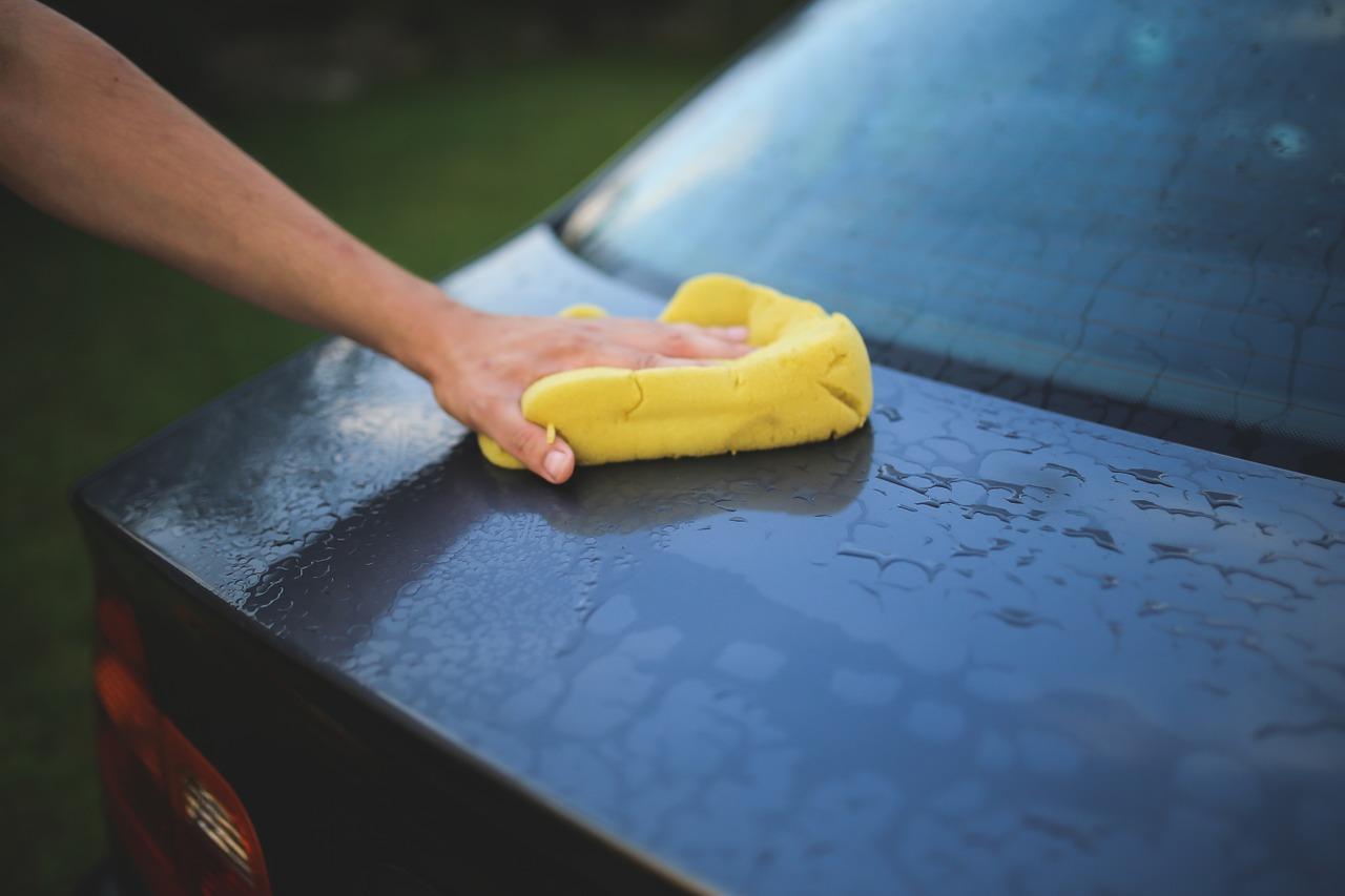 車 雨の後 手入れ