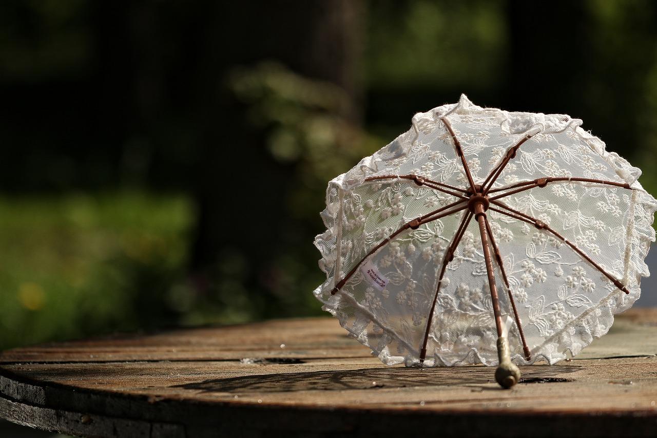 日傘 フリル 年齢