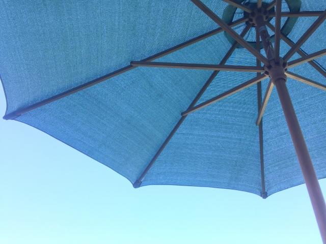 日傘 普通の傘 違い
